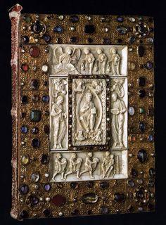 UNKNOWN GOLDSMITH, German, Book Cover, 1190s, Wooden core, silver, 30 x 23 cm, Herzog Anton Ulrich-Museum, Braunschweig