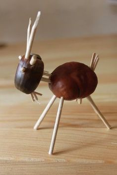 Conkers, Nature Crafts, Fall Diy, Fractal Art, Diy For Kids, Fall Decor, Arts And Crafts, Handmade, Activities