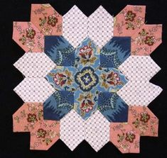 Lucy Boston Bloc 16 by Muriel for the POTC Blog Along for Little Quilts