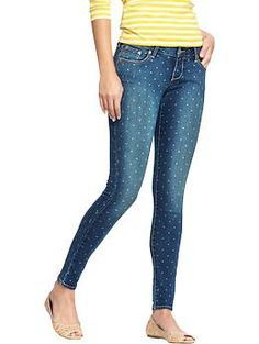 I'm size 2 for further reference... haha yes i want these. Womens The Rockstar Printed Skinny Jeans