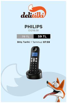 Philips ile telsiz telefonda eller serbest fırsatı, Delitilki'de!