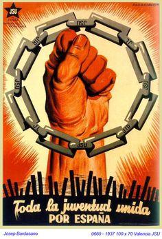 Spain - 1936-39. - GC - poster - Josep Bardasano