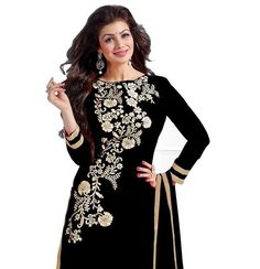 Shop Designer salwar suit dress material online at ladyindia.com at best prices.