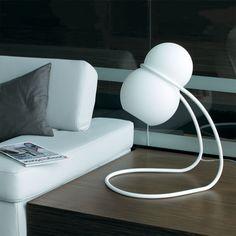 Baubau - lampička bílá / lamp
