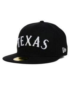New Era Texas Rangers Mlb B-Dub 59FIFTY Cap - Black 7