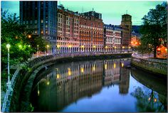 Bilbao, Spain- Someday I hope to go back there and visit Nagore and her family
