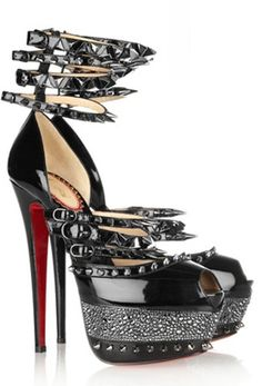 the spikiest red bottoms