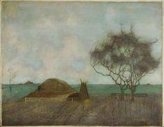jan mankes: landscape with pile of clay (landschap met kleihoop) Landscape Art, Landscape Paintings, Dutch Painters, Collaborative Art, Dutch Artists, Art For Art Sake, Museum Of Modern Art, Tree Art, Sculpture