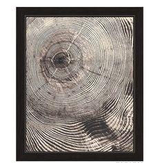 Modern Click Wall Art Wood Grain Texture Framed Graphic Art   AllModern