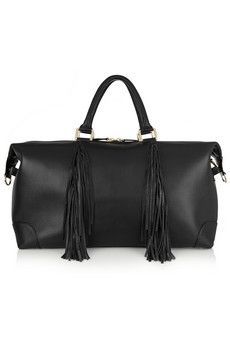 Eddie Harrop The Voyager fringed leather weekend bag  | NET-A-PORTER