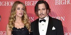 Amber Heard alega recibió golpiza de Johnny Depp...