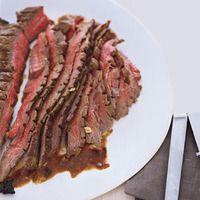Five-ingredient marinated flank steak