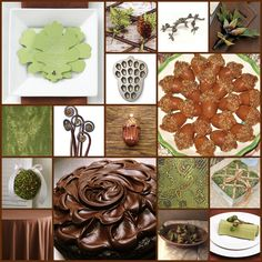 Keen To Be Seen: Green, Brown and Acorn Wedding Theme