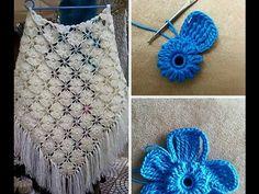 Tutorial de Chal soñado a Crochet - YouTube
