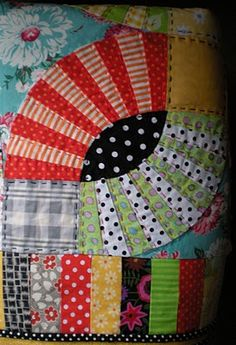 Pickle dish quilt pattern.