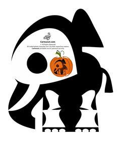 Skelanimals Pumpkin Templates Skelanimals Elephant Pumpkin – Cartoon Jr.