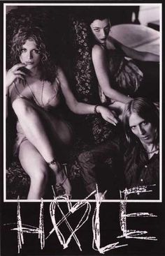A great portrait poster of Courtney Love and her band Hole in their prime! Ships fast. 11x17 inches. Need Poster Mounts..?
