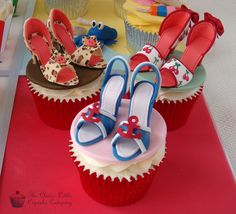 Cake International Entry - Shoe Cupcakes by The Clever Little Cupcake Company (Amanda), via Flickr