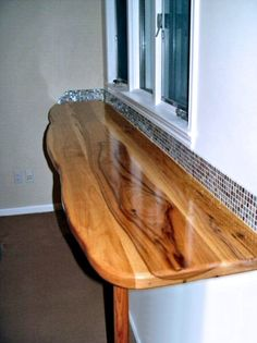Photo Gallery Of Pecan Wood Countertops, Butcher Block Countertops, Wood Bar  Tops, Wood Table Tops, And Custom Wood Tables Are All Made By DeVos Custom  ...