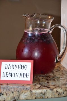 food for lady bug birthday party - Google Search