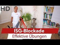 Iliosakralgelenk Schmerzen // ISG-Blockade // Übungen gegen ISG Schmerzen