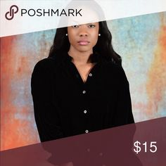 Selling this Black velvet top! on Poshmark! My username is: shannoya. #shopmycloset #poshmark #fashion #shopping #style #forsale #Tops