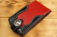 Leather iPhone5S case Hand Made JAPAN
