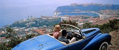 Cary Grant, 'To Catch a Thief',1955: Does anyone remember the French Riviera location of the picnic scene between Grace Kelly and Cary Grant in this romantic thriller directed by Alfred Hitchcock ?  #CaryGrant #Actor #Luxury #Travel and #Lifestyle in #Monaco