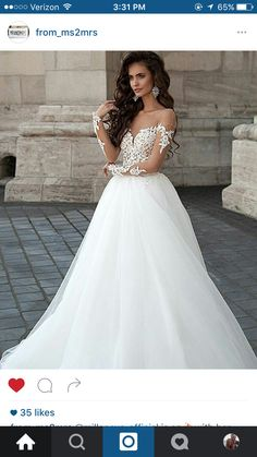 Wedding gown of my dreams