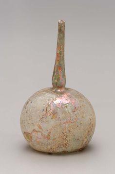 Perfume bottle (qumqum)  Islamic 12th–13th century A.D.