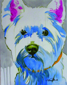 POP ART- Two Artists interpret the hearts and souls of animals onto canvas naturalpetworld.com #naturalpetworld
