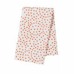 Dot Tea Towel - Orange by Pehr #OhCanada #IndigoHome