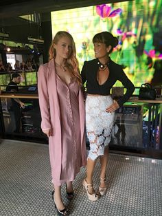 Great morning @TimoWeiland #NYFW w/gorge @levenrambin  Both in our @Ruthie_Davis heels of course! (and moto jacket)