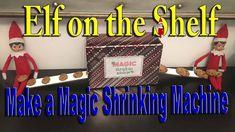 Our Elves on the Shelf made a cookie shrinking machine. ________________________________________ The Elf Tradition H. The Elf, Elf On The Shelf, Shelf Ideas, Some Ideas, Shelves, Magic, How To Make, Shelving, Shelving Ideas