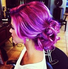 I should have done this while I was going rainbow on my hair!!!