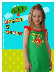 Green sleeveless Pomme d'amour dress - Retro-Rock-and-Robots