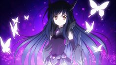 Kuroyukihime from Accel World is celebrating her birthday this week. Hungry for anime? Sword Art Online Pc, Sword Art Online Hollow, Online Art, Cool Anime Girl, Anime Art Girl, Cyberpunk, Anime Boy Zeichnung, Witch Craft Works, Sword Art Online Wallpaper