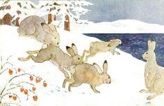 Julekort Othar Holmboe Utg NK tidlig 1900-tallet