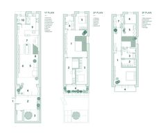"""RIGI Design has remodelled three-storey house in Shanghai, China, called """"A White House, A Growing Home"""" and furnished it with adaptable modular furniture. Old Shanghai, Architecture Student, Architecture Diagrams, Building Structure, Modular Furniture, Prefab Homes, Best Wordpress Themes, House And Home Magazine, Historic Homes"""