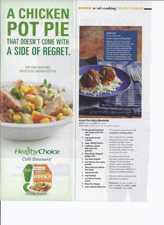 A great recipe from Cooks Country magazine. LOVE chicken pot pie!