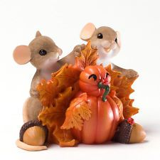 Charming Tails Autumn Harvest, 'Thankful For What We've Built Together', 4027679