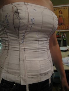 Bridal and Formalwear Sewing >> Wedding Gown Foundation Boning for Larger Bust
