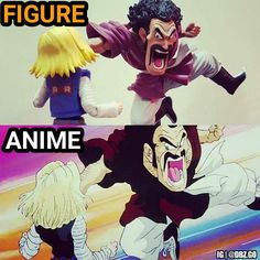 Hercule vs C18!  a dbz.go original  please give credit if reposted thanks Follow: @dbz.go for more hot content! stay saiyan!  Your Opinion Is Important: Leave A Comment