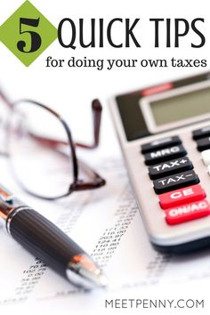 Smart tips for personal taxes from a lady who survived an audit and owed nothing. #DIYTaxes #ad