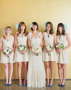 Bridesmaid dresses by BHLDN | Melanie + Kelcey | YEAH! weddings