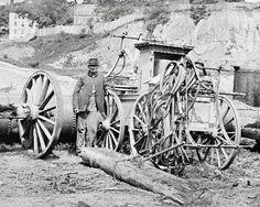 American Civil War Pictures & Photos   Richmond, Virginia Fire Engine No. 3.