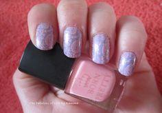 Nail art stamping pastel spring #stamping #pastel #spring #bornpretty #nailart #nailartstamping #pink