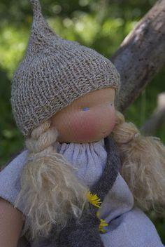 Knecht Ruprecht Waldorfdoll by KnechtRuprechtDolls, via Flickr Child Life, Waldorf Dolls, Handmade Toys, Knecht Ruprecht, Baby Dolls, Winter Hats, Childhood, Crochet Hats, Felt