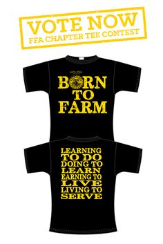 This tee was designed by GLR FFA from IA!