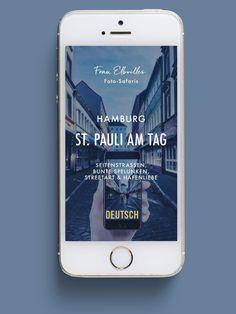 Hamburgs schönste Foto-Spots mit dem Smartphone entdecken! Als thematisch aufgebaute Foto-Touren lotsen  Dich diese Guides auf spannenden Streifzügen durch die schönste Stadt der Welt! Neben unterhaltsamen Informationen und inspirierenden Fotos geben Dir die Guides mehr als 120 Location-Tipps und verorten sie noch dazu in Google Maps, damit Du sie mühelos findest. Einfach einen Guide Deiner Wahl auf das Smartphone laden und los geht's! Safari, Galaxy Phone, Samsung Galaxy, St Pauli, Smartphone, Graffiti Murals, Instagram Accounts, Location, Urban Art